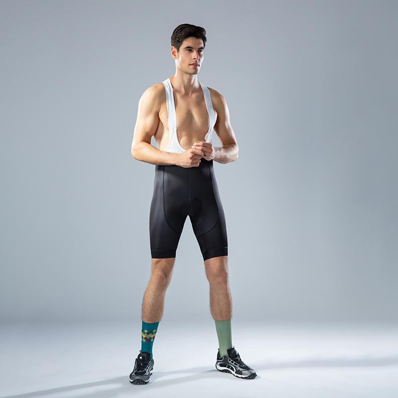 Italy fabric Men's cycling bib shorts for Top team cyclist BQ002
