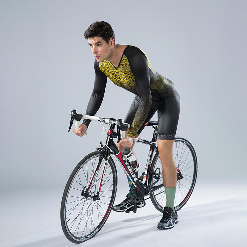 Men custom Cycling Skinsuits Long sleeves BQ006