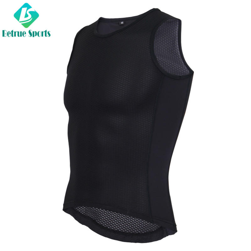 Betrue quality mens cycling base layer jersey for bike