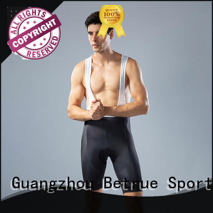 Betrue men cycling bib tights supplier for sport