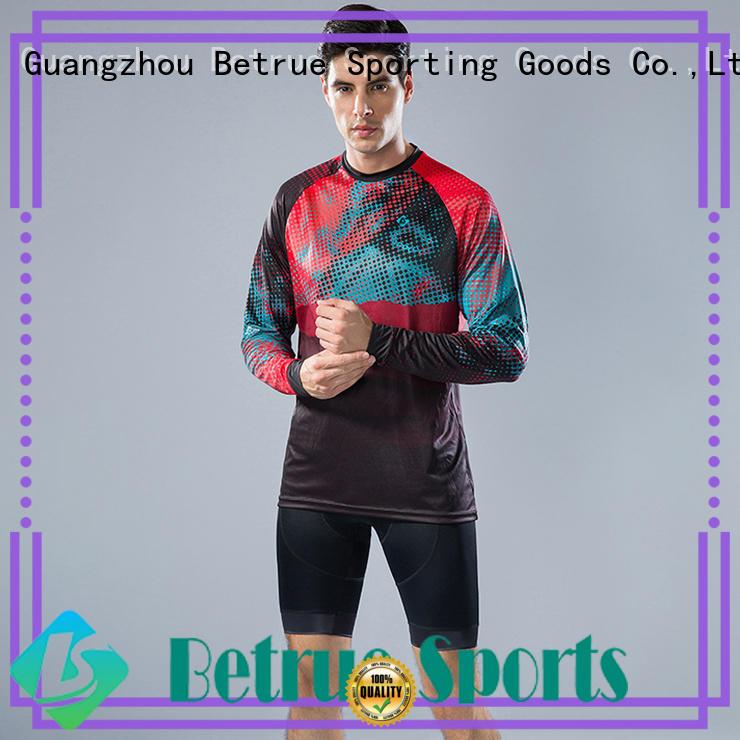 black cycling shirt