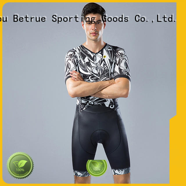 Betrue quality cycling skinsuit customized for sport
