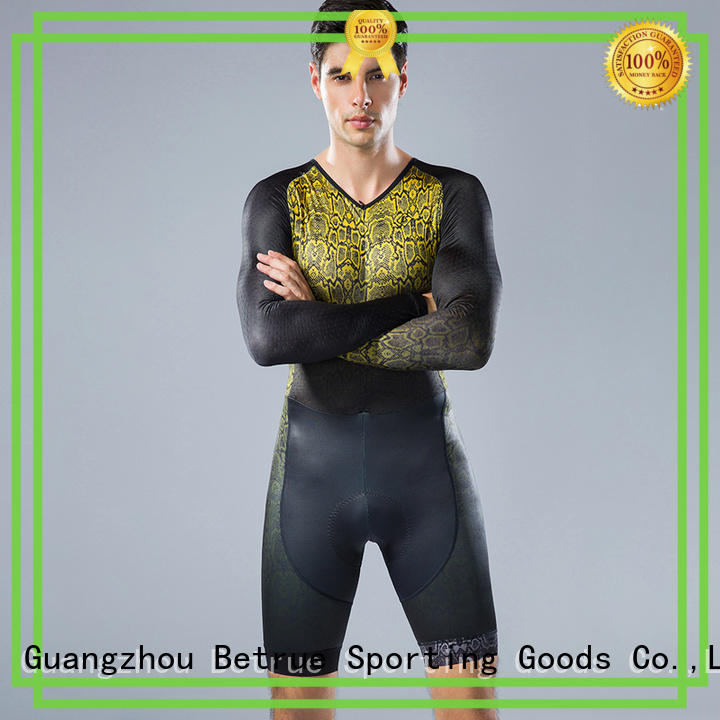 Betrue Custom cycling skinsuit cheap manufacturers for sport