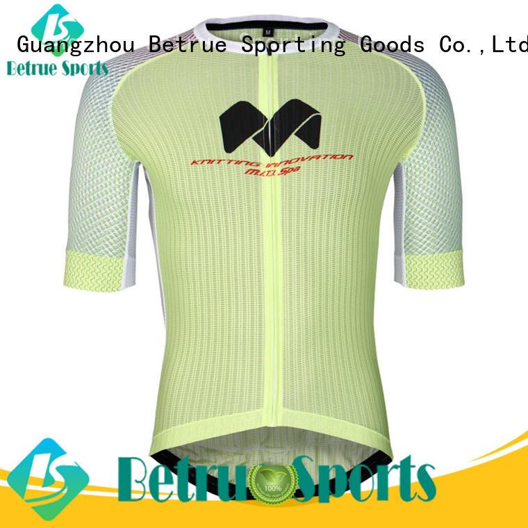 Betrue fleece funny cycling jerseys customized for sport