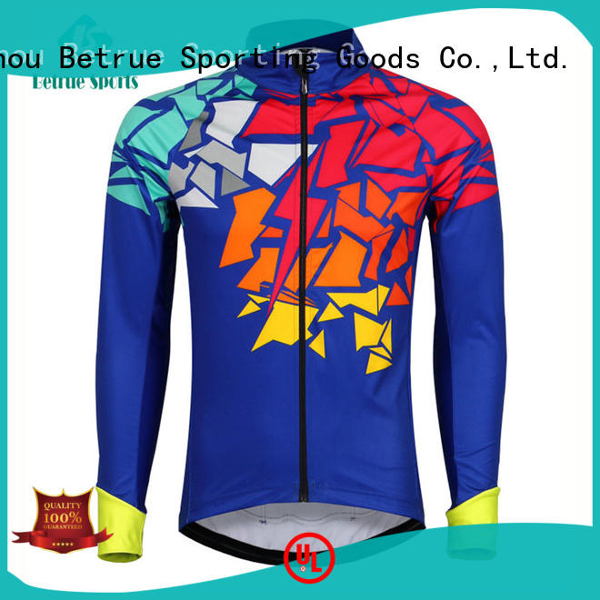Betrue snowy mens cycling jacket series for bike