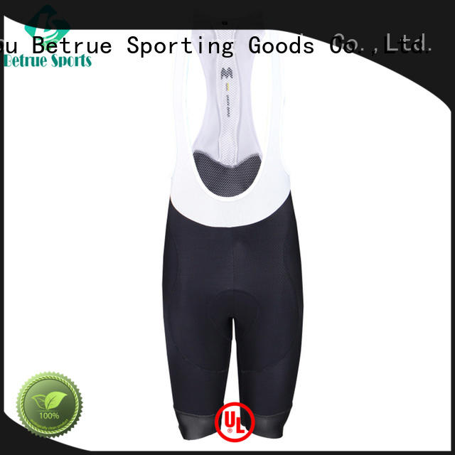 Betrue italy-made cycling bib shorts manufacturer for men