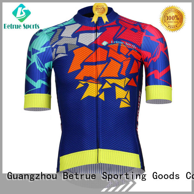 Betrue eggplant mens road bike jerseys Supply for women