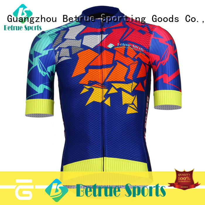 Betrue night mens road cycling jersey manufacturer for sport