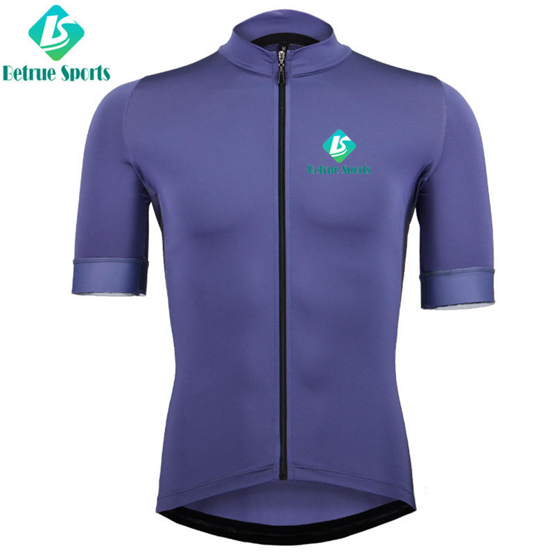 Betrue purple mens mountain bike jerseys customized for bike-1