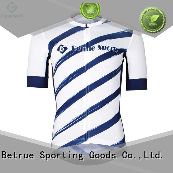 Betrue snowy funny cycling jerseys customized for men