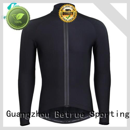 black men's cycling jerseys short sleeve slim for women Betrue