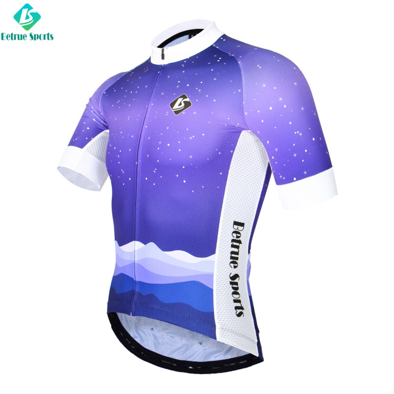Betrue snowy mens road cycling jersey Supply for men-2