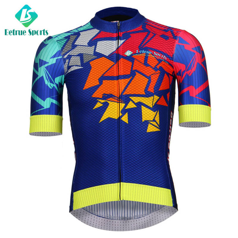 sleeve black end mens cycling jersey summer Betrue