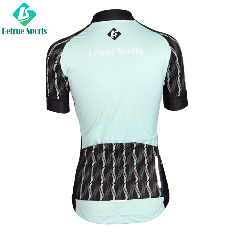 High-quality custom bike jerseys blue factory for sport-3