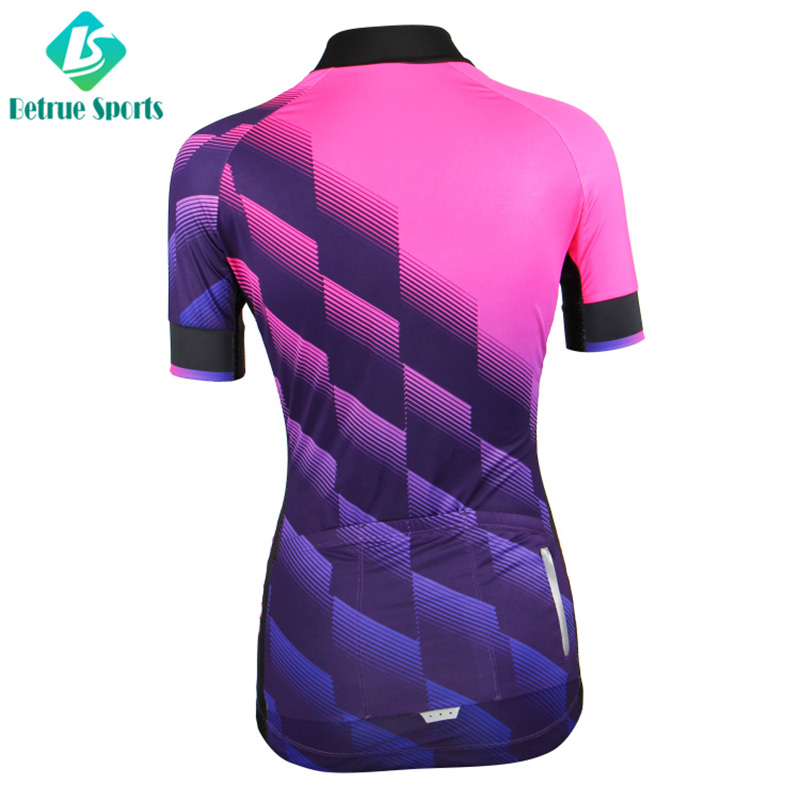 Best custom cycling jersey light for business for men-3