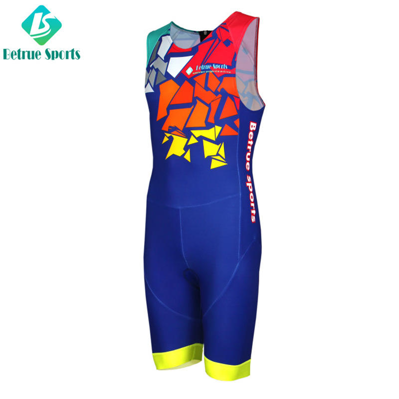 sleeveless skinsuit triathlon italian series for bike