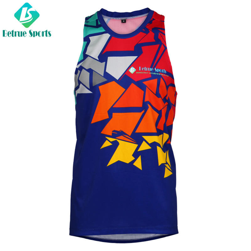 Man Running Wear Custom Cycling Single breathable BQ-RW-003