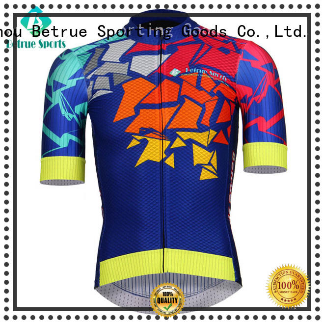 Betrue weight mens bicycle jerseys supplier for men