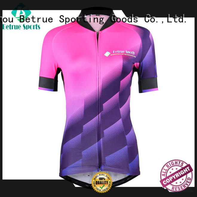Betrue quality womens cycling jersey sale gradient for sport