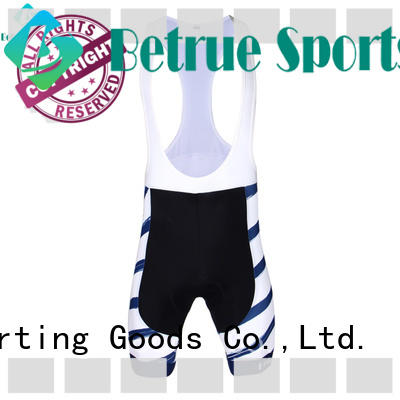 Betrue cycling bike bib shorts supplier for sport