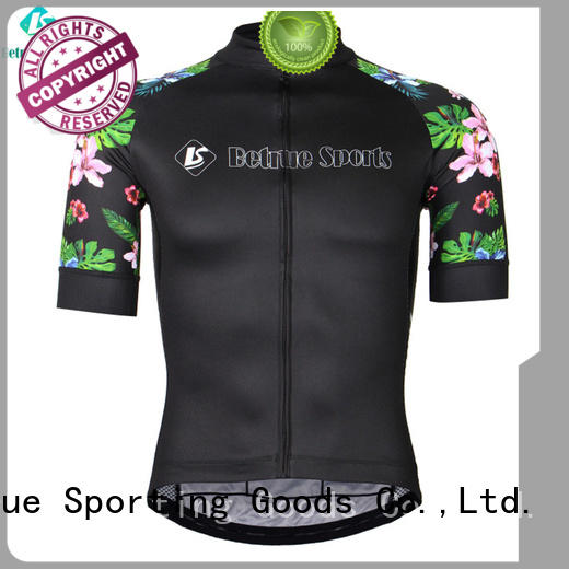 Betrue fleece mens road cycling jersey wholesale for sport