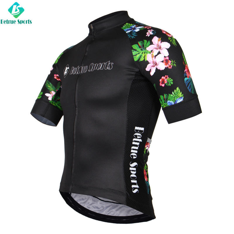 Betrue fleece mens road cycling jersey wholesale for sport-2