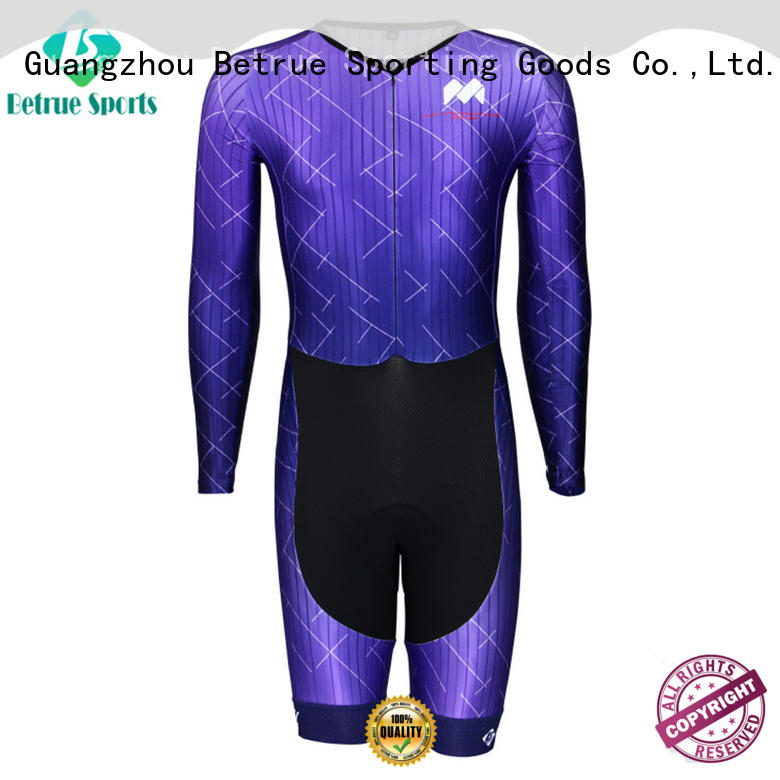 Betrue skin cycling skinsuit company for bike