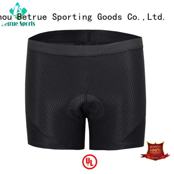 Betrue pro cycling undershorts customized for sport