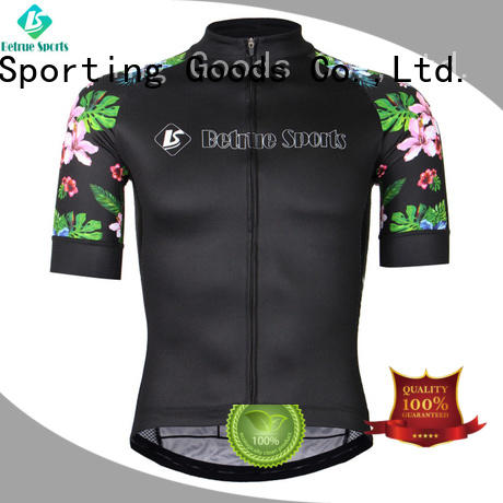 long sleeve cycling jersey summer flowers Betrue Brand company