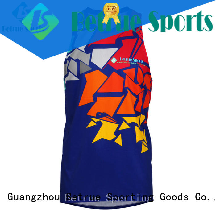 breathable man running clothes for men single cycling Betrue Brand