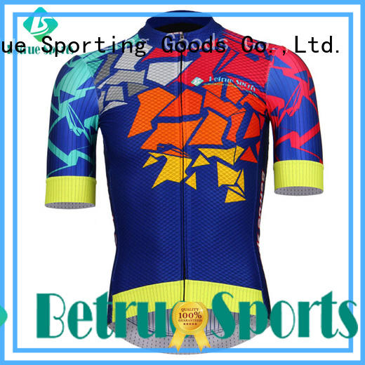 Betrue colorful vintage cycling jerseys series for bike