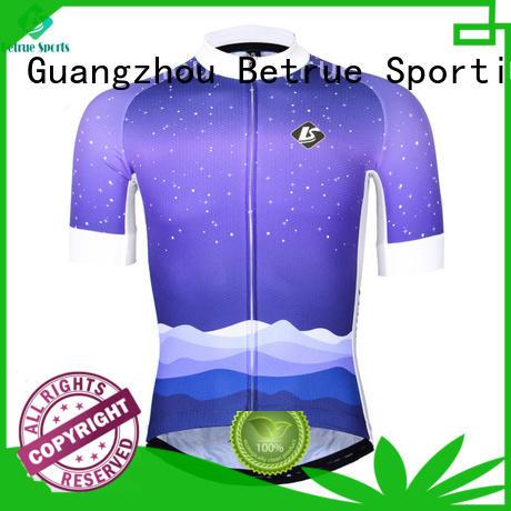 night purple cycling jersey men's bike for sport
