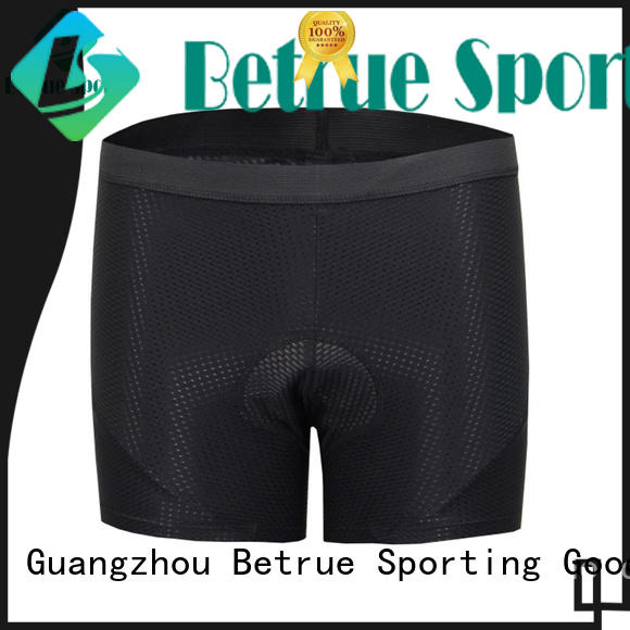 Betrue summer padded cycling underwear wholesale for women