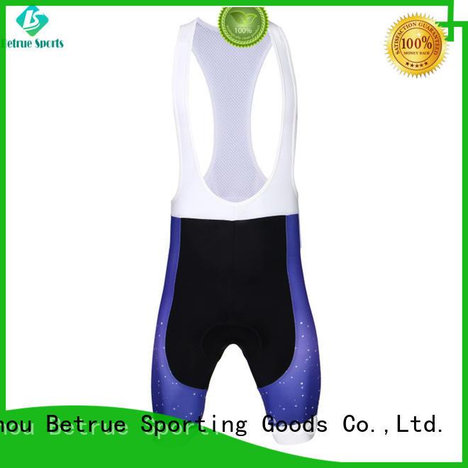 Betrue fashion bike bib shorts supplier for men