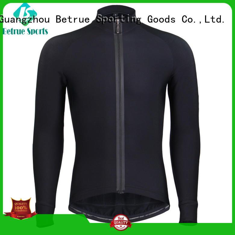 Betrue Brand cross long mens cycling jersey winter factory