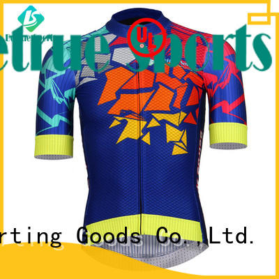 Betrue night cool mens cycling jerseys manufacturer for sport