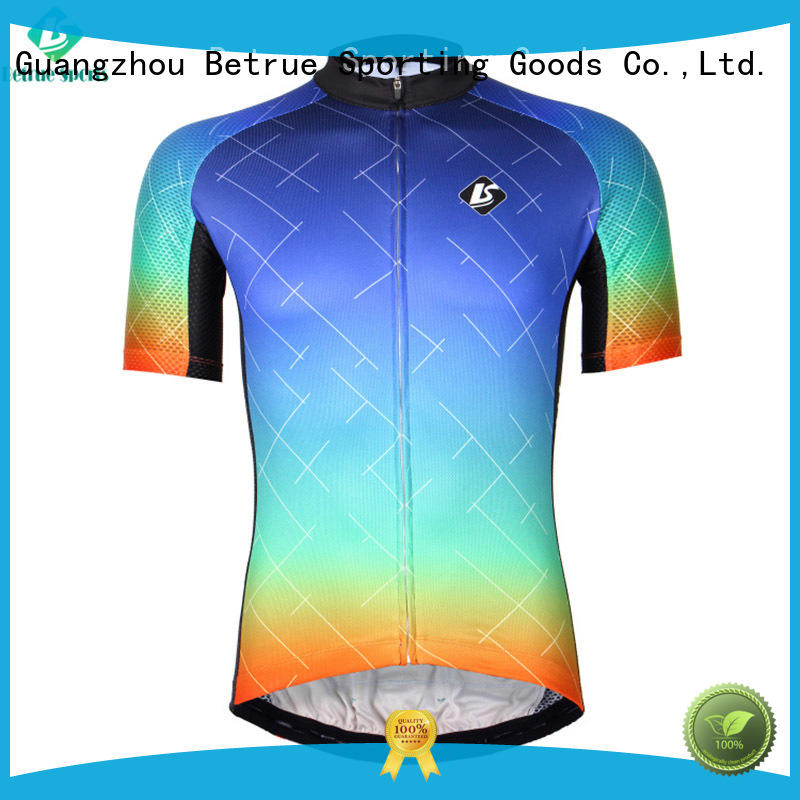 Betrue grain  bike jerseys mens series for men