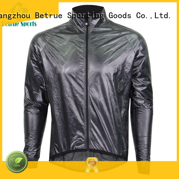 raincoat sleeve OEM cycling jackets Betrue