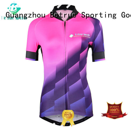 Betrue fashion womens cycling jersey Suppliers for sport