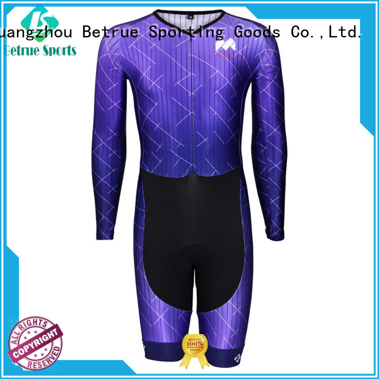 Betrue quality cycling skinsuit cheap supplier for women