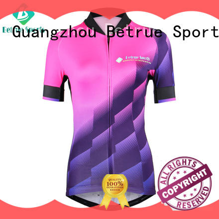 online womens long sleeve cycling jersey series for bike Betrue
