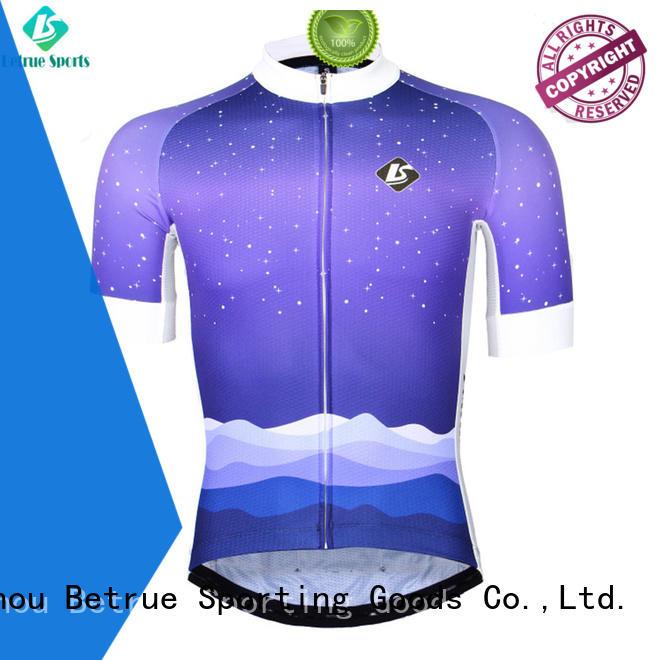 Betrue cross vintage cycling jerseys supplier for sport