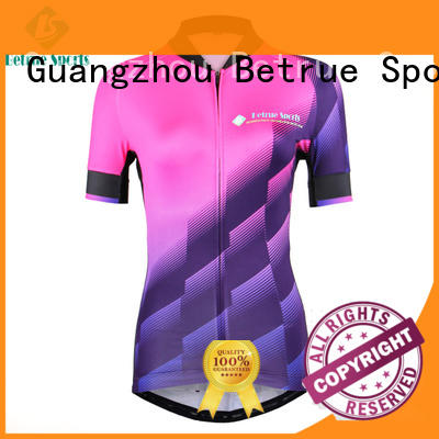 Betrue blue womens cycling jersey wholesale for men