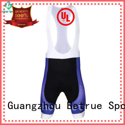 Betrue shorts mens cycling bib shorts manufacturer for sport