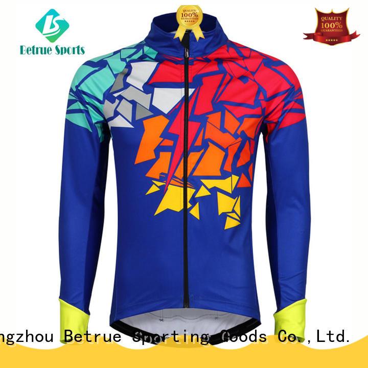 Betrue Custom mens waterproof cycling jacket for business for women