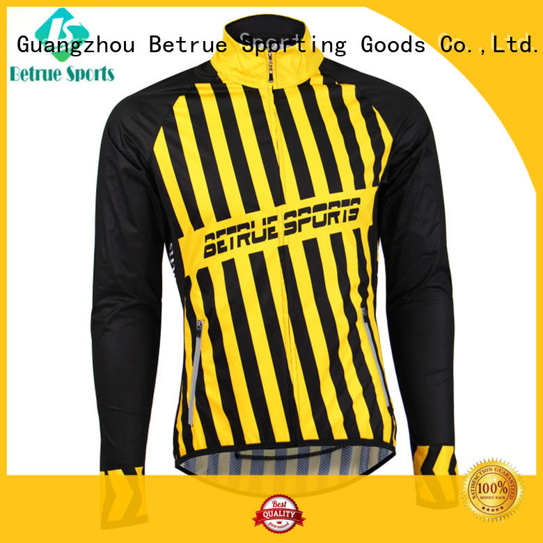 Betrue long winter cycling jacket mens supplier for bike