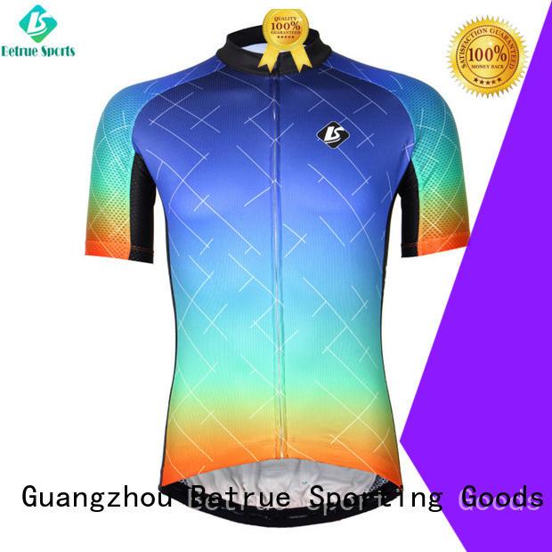 Betrue night mens road bike jerseys customized for men