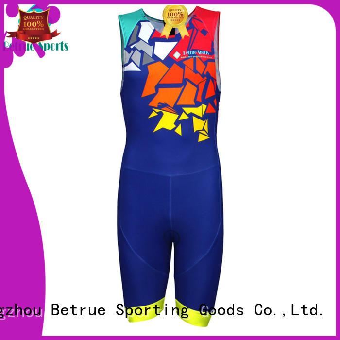 Betrue suits custom triathlon suit series for men