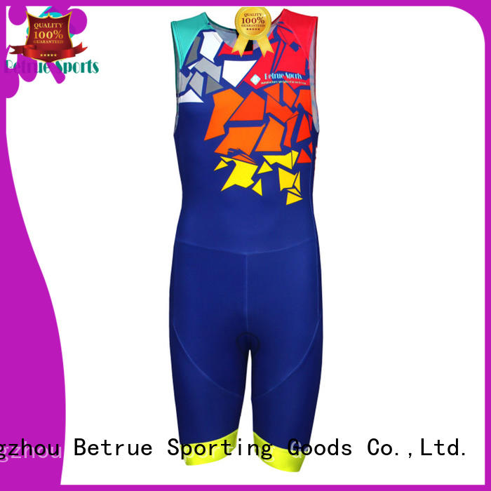 Betrue suits custom triathlon suit series for men