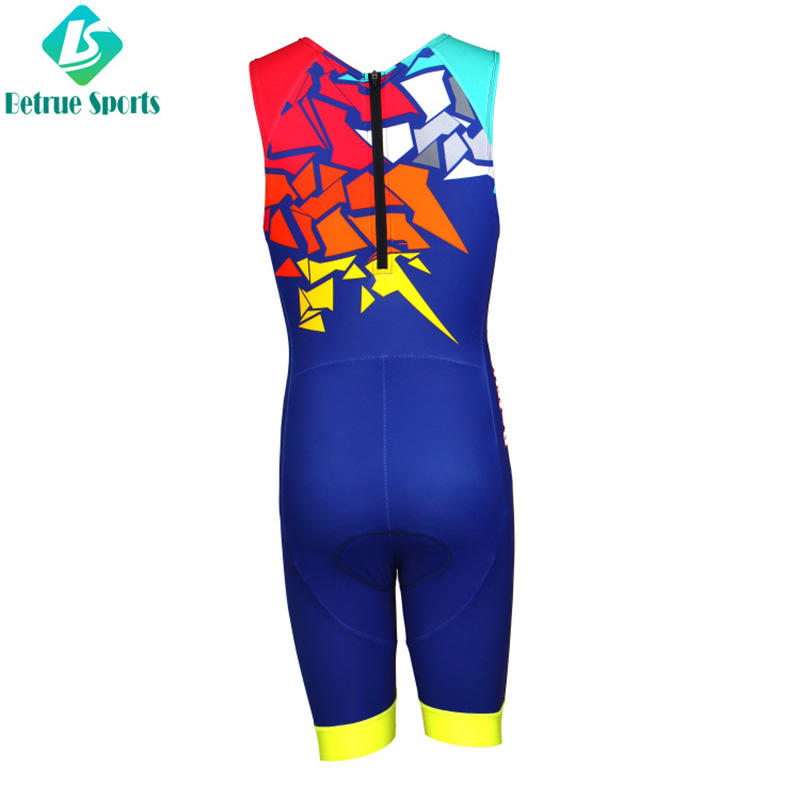 sleeveless skinsuit triathlon italian series for bike-3